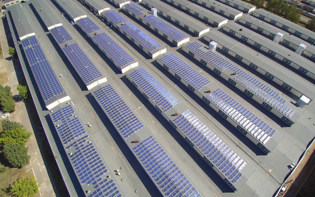 1000 kW saulės elektrinė Daugpilyje, Latvija