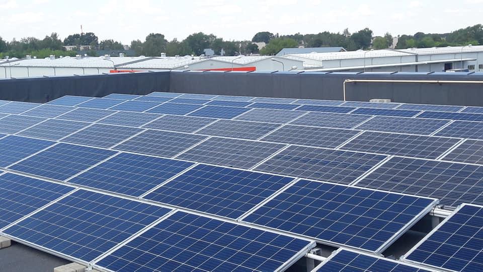 400 kW saulės elektrinė Šiauliuose