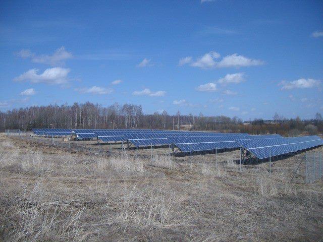 saulės elektrinė Mažeikiuose