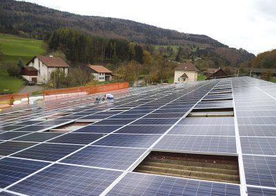 181,5 kW saulės elektrinė Delemont, Šveicarija