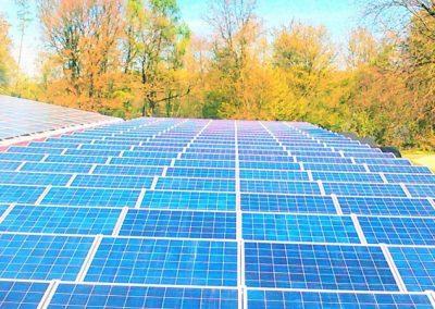 206 kW saulės elektrinė Dinslaken, Vokietija