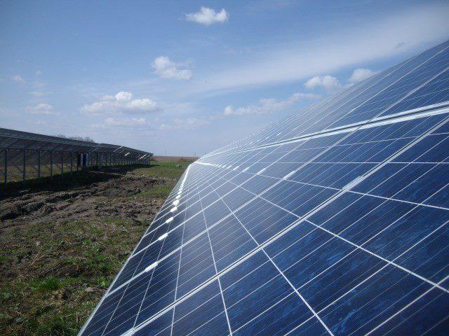 Saulės elektrinė Vilkaviškyje