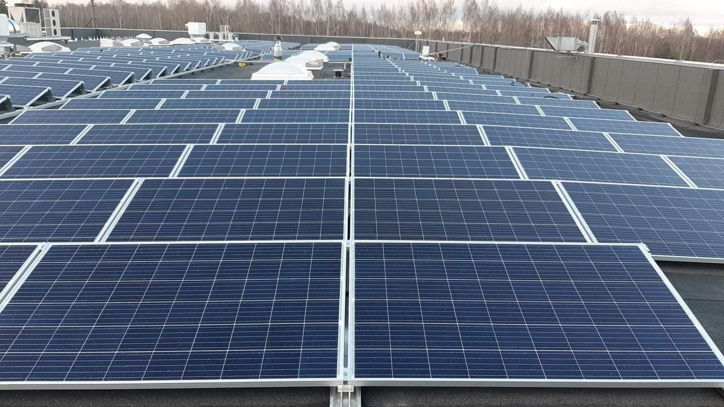 199 kW saulės elektrinė Kaune