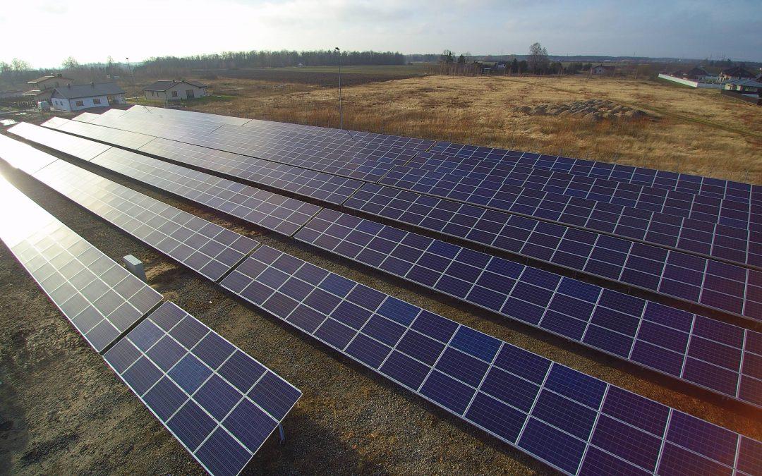 400 kW saulės elektrinė Panevėžio rajone