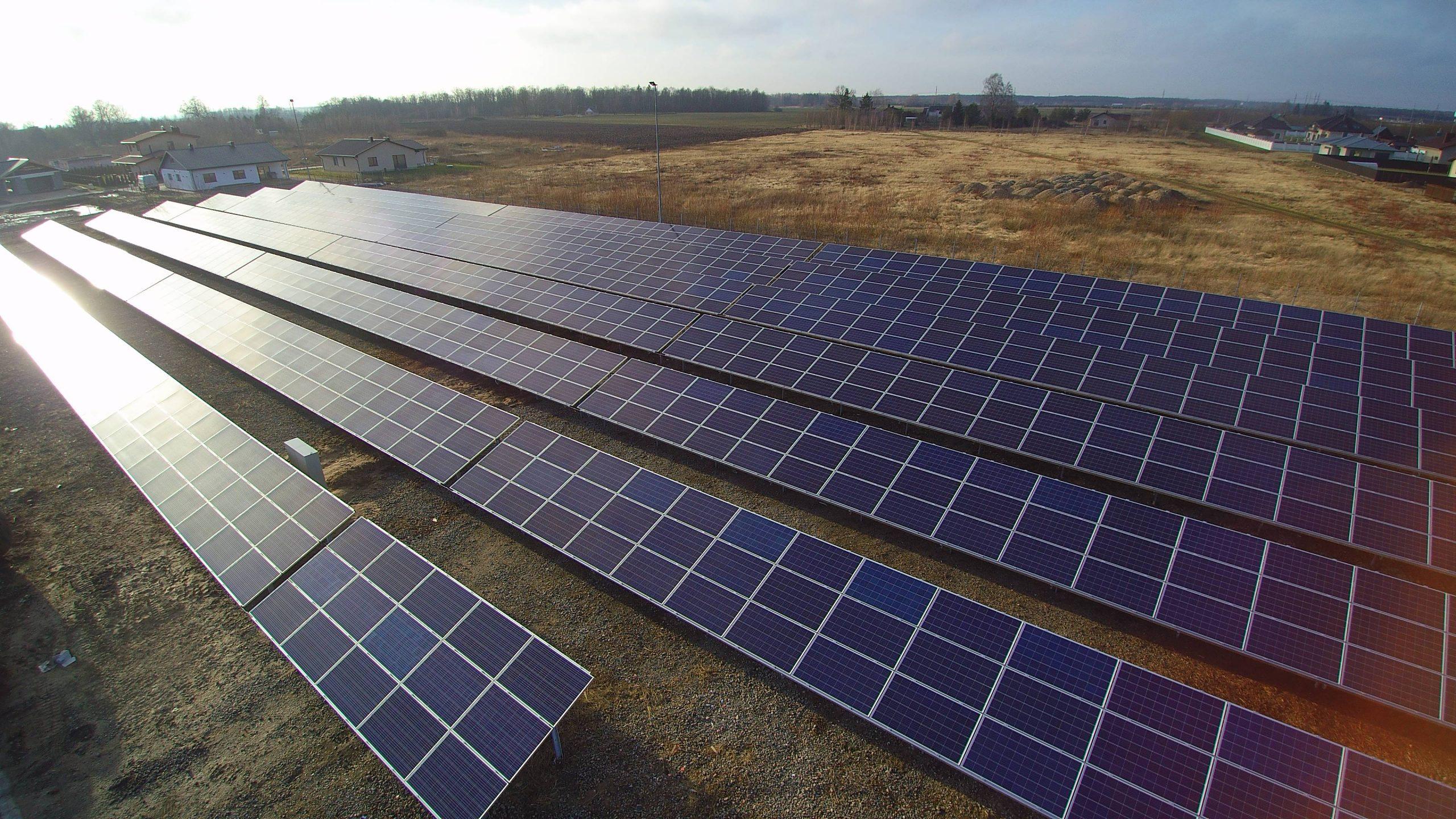 Saulės elektrinė Panevėžyje