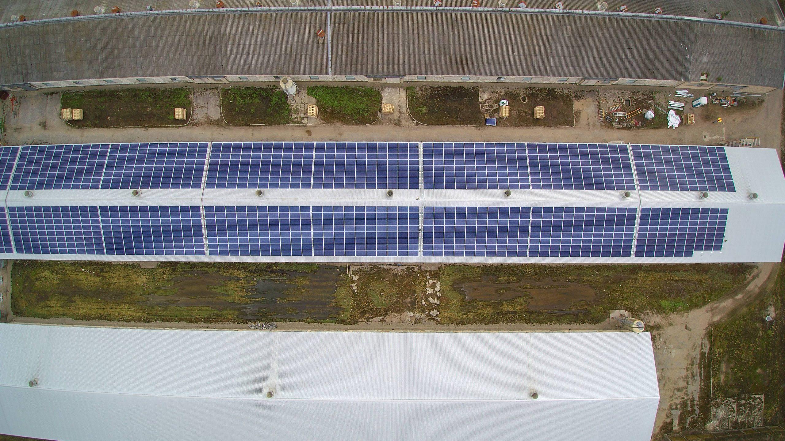 Saulės elektrinė Panevežyje