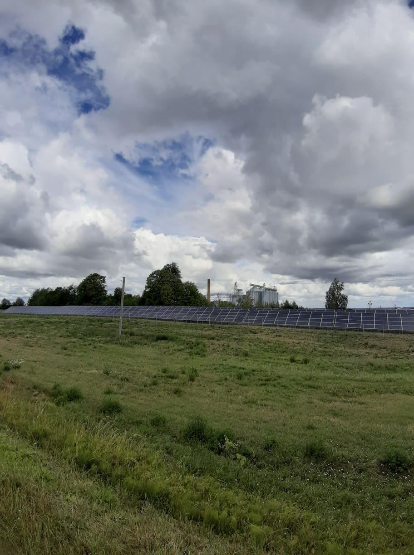 Saulės elektrinė Prienuose