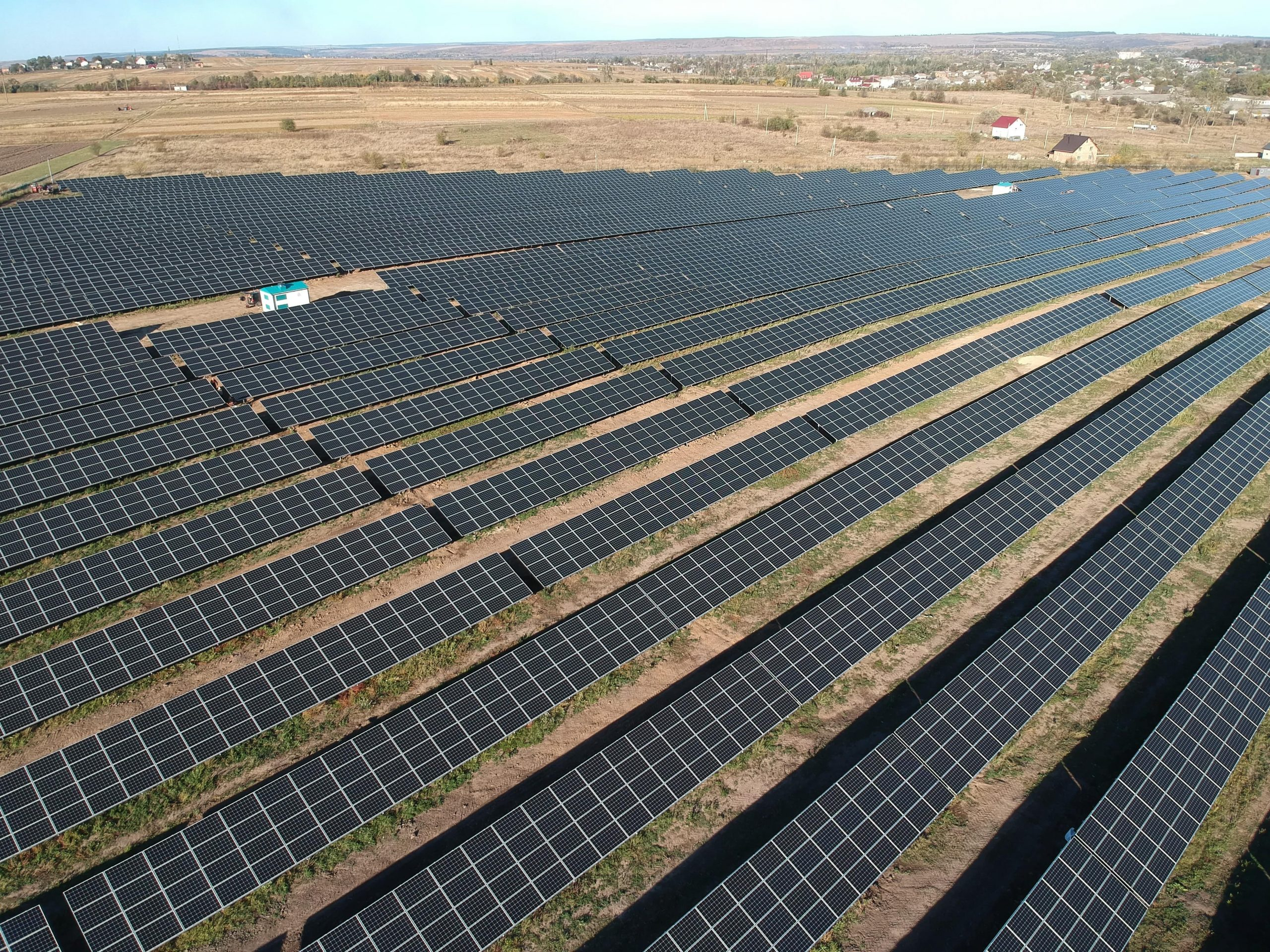 Saulės elektrinė Ukrainoje