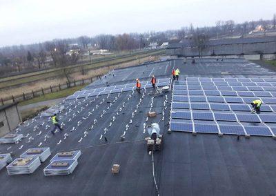 150 kW saulės elektrinė Panevėžyje