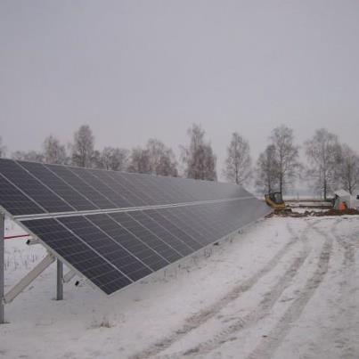 406 kW saulės elektrinė Kairiškių kaime, Akmenės raj.