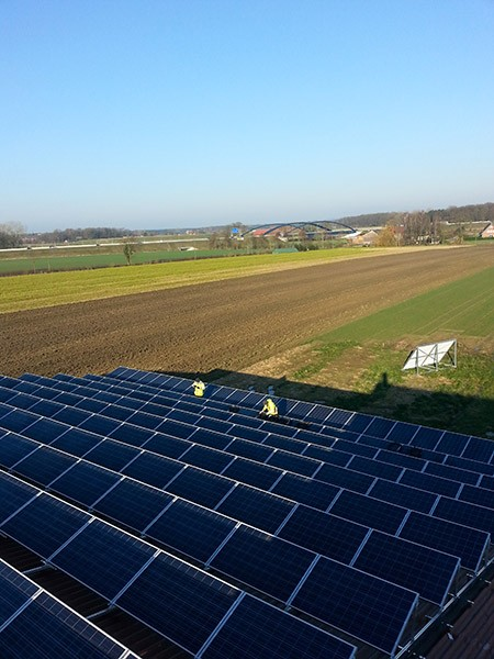 Saulės elektrinė Vokietijoje