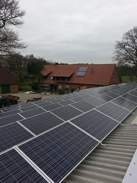 282 kW saulės elektrinė Lengeric, Vokietija