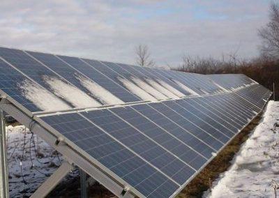 198 kW saulės elektrinė Klaipėdoje