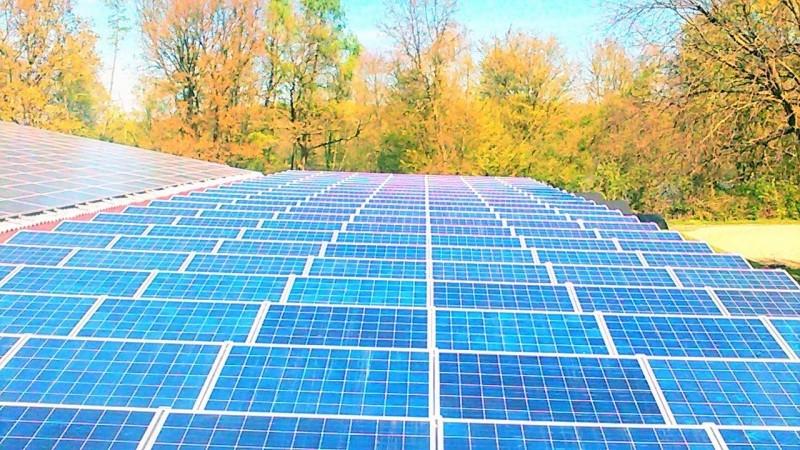 Saulės elektrinė Dinslaken