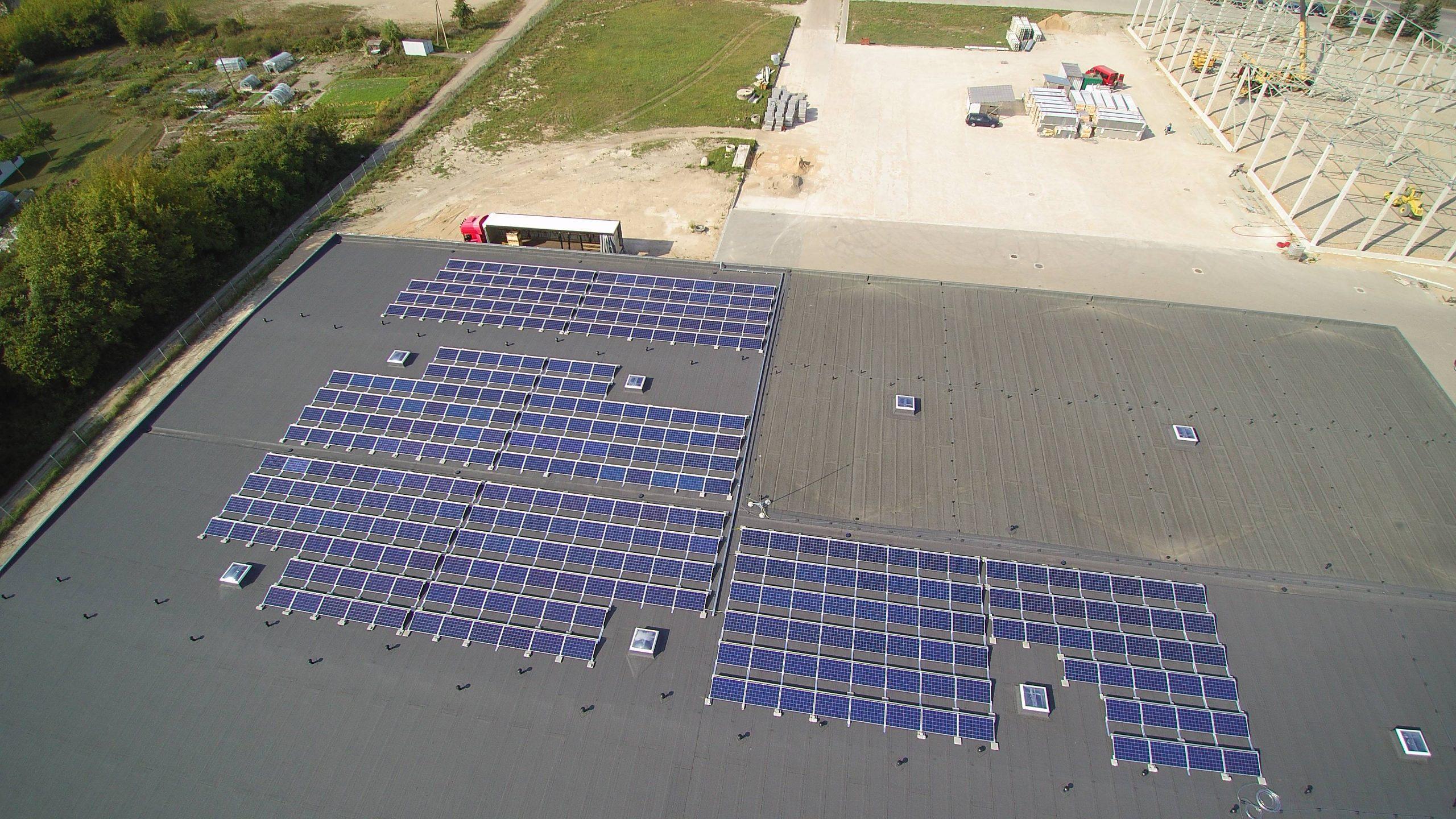 Saulės elektrinė Marijampolėje