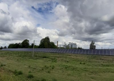 165 kW saulės elektrinė Prienuose