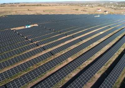 12.7 MW saulės elektrinė Ukrainoje